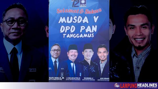 Musda Ke-V Selesai, DPP-PAN Tetapkan 5 Formatur Terpilih, Ketua DPD Tunggu Intruksi Ketum Zulkifli Hasan