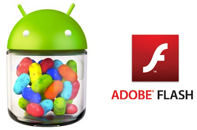 Adobe Flash Player for Android Jelly Bean