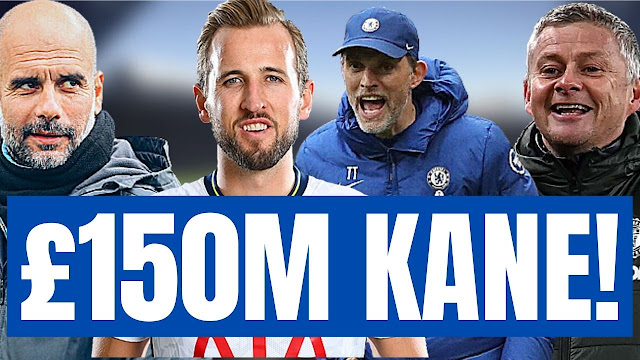 Chelsea News : Harry Kane to leave Tottenham   Chelsea, Man City & Man United s chances rated.
