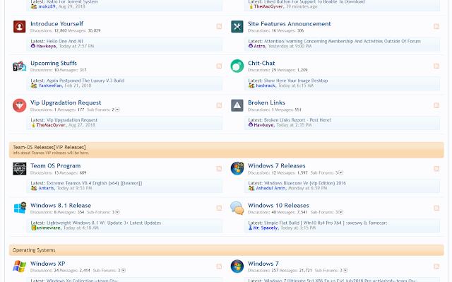 موقع رائع لتحميل كل ما تريده من برامج مفعلة وأنظمة ويندوز مفعلة مجاناً وبنقرة واحدة