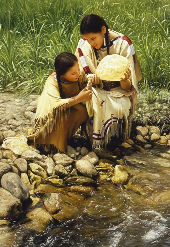 Американский художник. Ed Copley