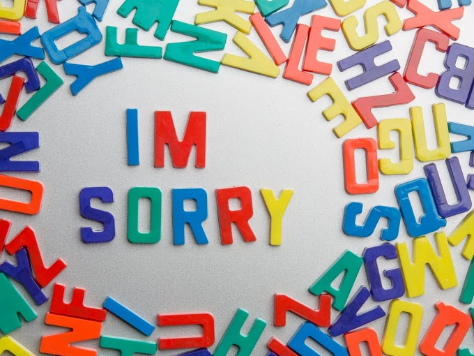 Alternatives Words For 'Sorry' At Your Place Of Work
