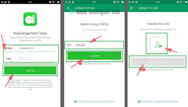 Cara Menggunakan MiChat Terbaru 2020