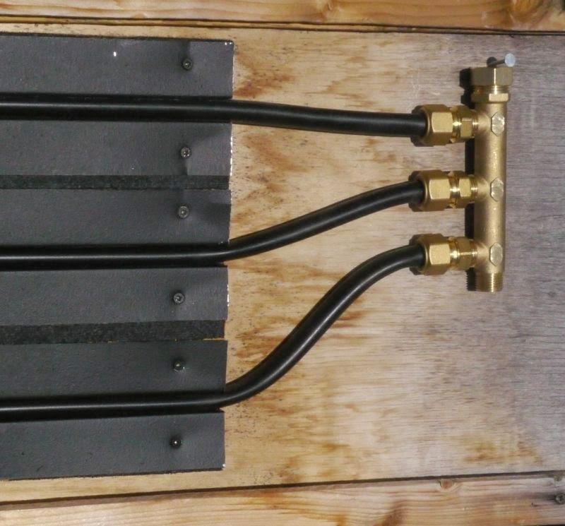 Montage de la tuile solaire thermique Caleosoleil