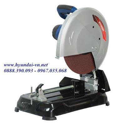 Máy cắt sắt mini cầm tay Huyndai HCS 355