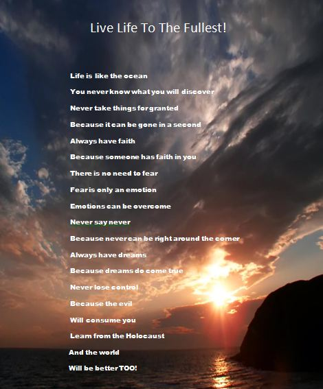 Life Is Like The Ocean Quotes: Download Uplifting Poems   Brenda's Blog