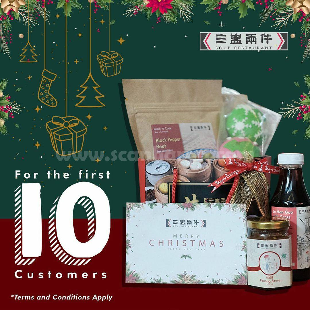 Soup Restaurant Promo Free Hampers For The First 10 Customers