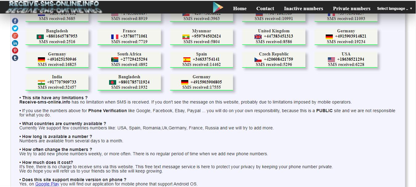 Hướng dẫn nhận mã code SMS online
