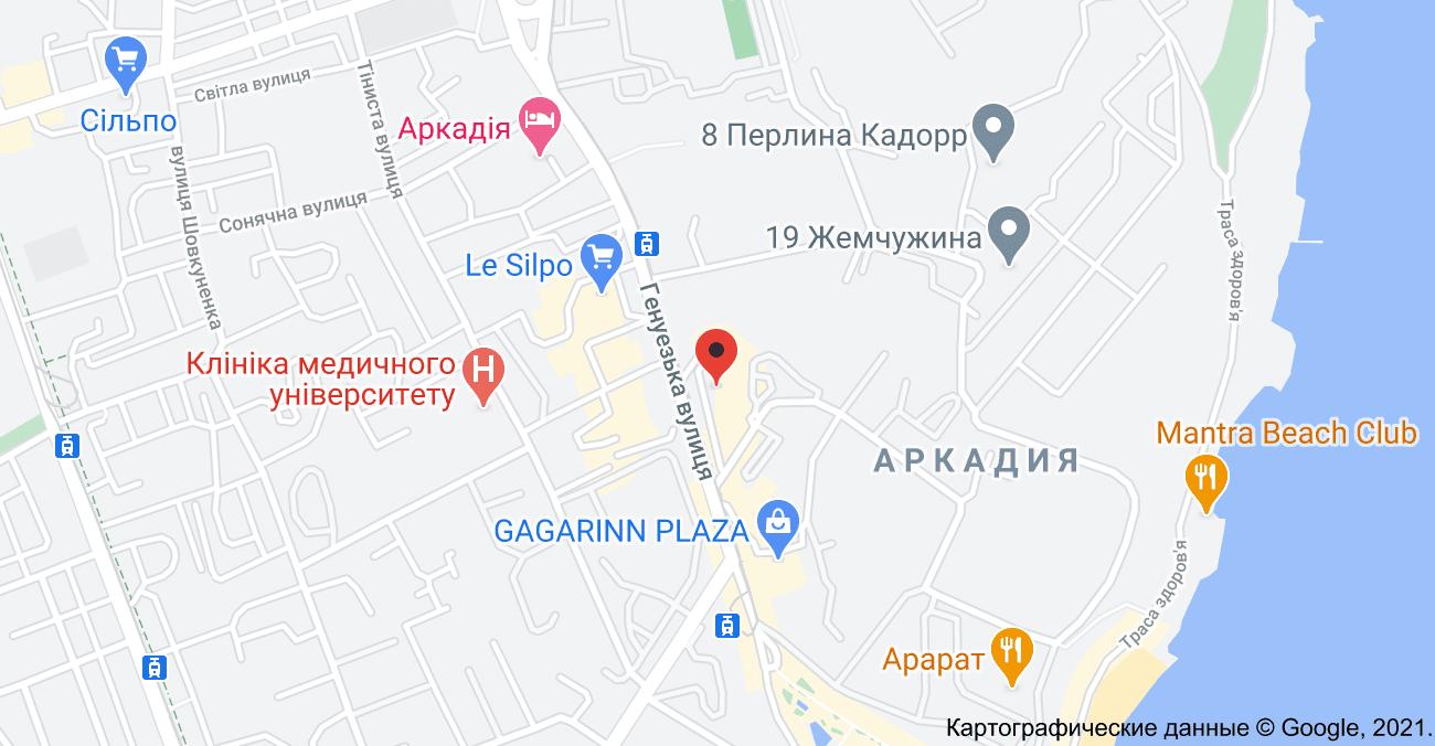 Barbershop на картах Google