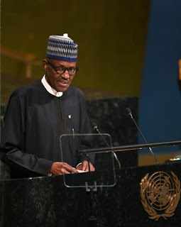 Buhari at UN general assembly
