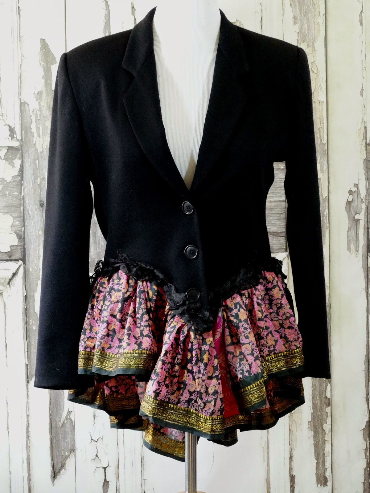 Refashion Co-op: Trench Coat Upcycle