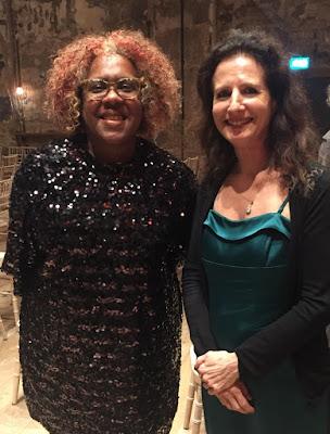 Errollyn Wallen & Madeleine Mitchell at RPS Awards 2019 (Photo Gillian Moore)