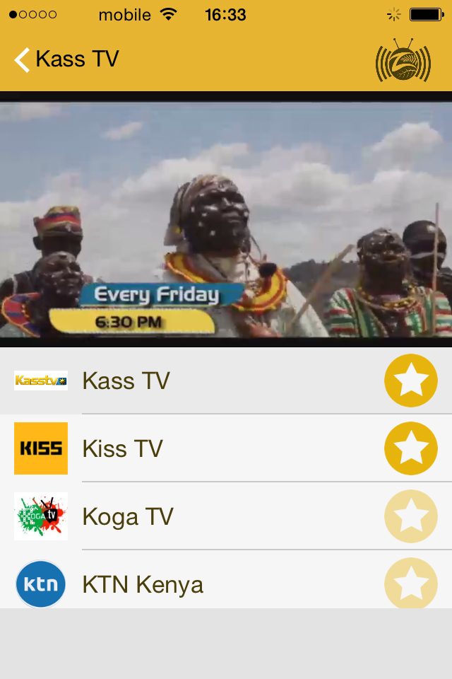 Advertisement | Download Africa's biggest TVs and Radio Stations Mobile deirectory...Zalunu App