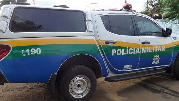 Viatura da Polícia Militar de Rondônia