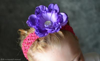 Matching headband