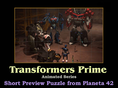 Transformers Prime Puzzle
