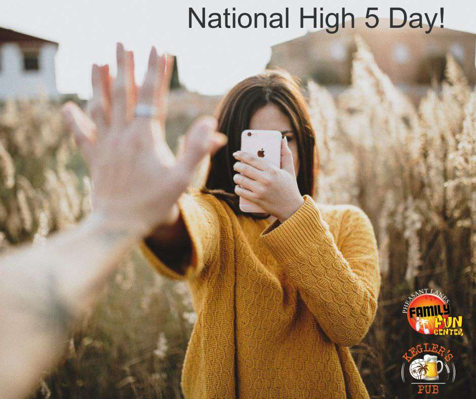 National High Five Day Wishes Awesome Picture