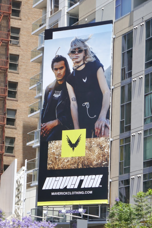 Maverick Clothing SS20 billboard