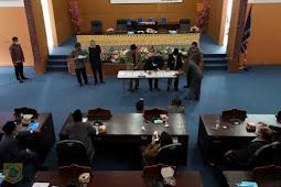 Kaiman Turnip Setujui Ranperda APBD 2021 Pakpak Bharat