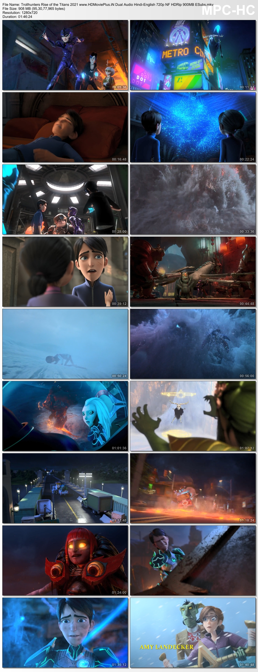 Trollhunters: Rise of the Titans 2021 Dual Audio