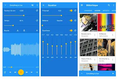 music speed changer تطبيق