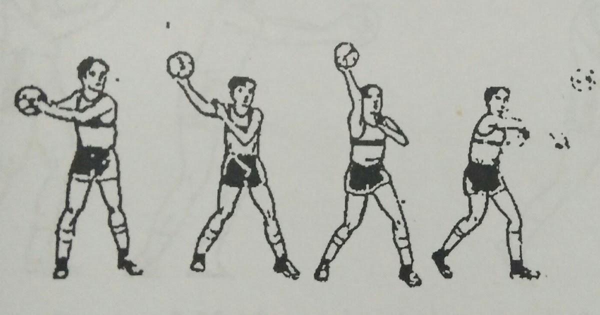 Gerak Dan Teknik Dasar Permainan Bola Tangan Penjaskes
