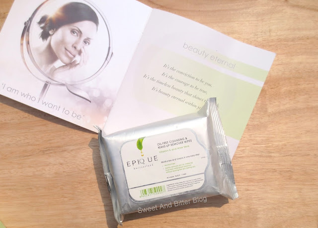Epique Oil Free Cleansing and Makeup Remover Wipes Review