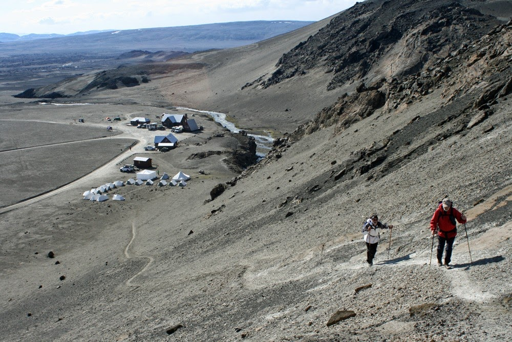 La caldeira d'Askja - Islande