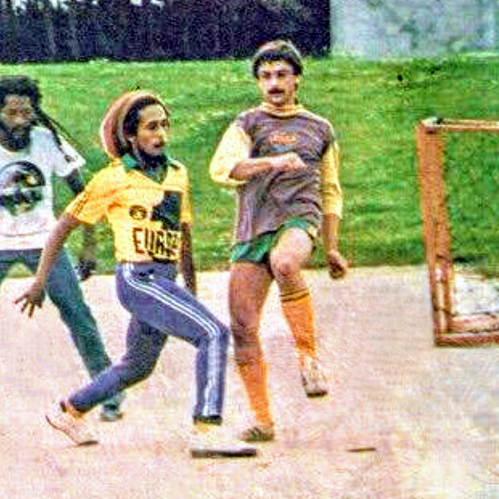 THE VINTAGE FOOTBALL CLUB: BOB MARLEY KIFFE LE F.C NANTES.
