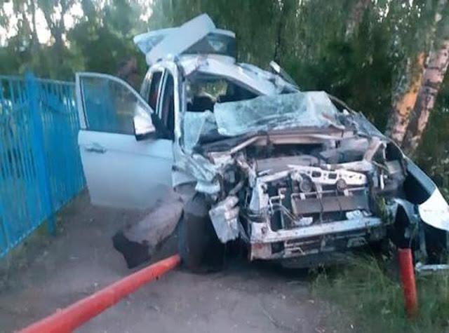 9 июня два человека погибли в ДТП в Башкирии