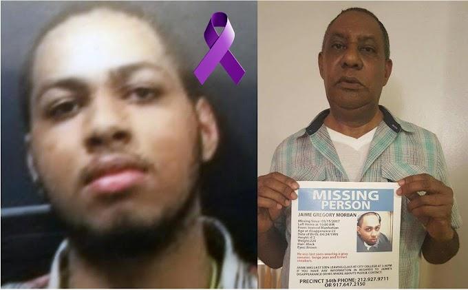 Velarán este domingo en funeraria del Alto Manhattan  restos de estudiante dominicano desaparecido