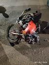 Acidente entre Moto e veículo causa ferimentos gravíssimos a condutora em Roncador