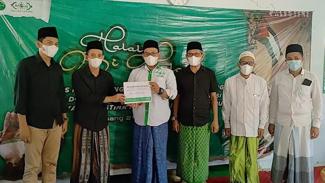 Komunitas Pendamping Desa Kabupaten Sampang adakan acara doa bersama dan berikan donasi untuk palestina
