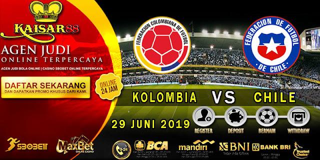 PREDIKSI BOLA TERPERCAYA KOLOMBIA VS CHILE 29 JUNI 2019