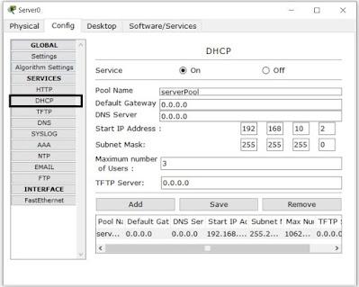konfigurasi dhcp