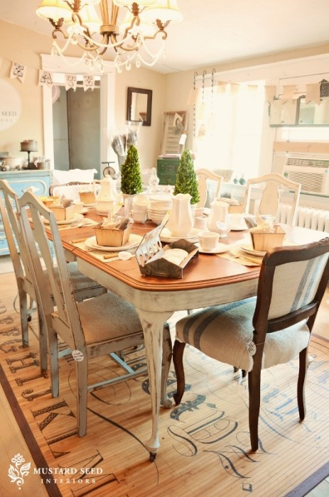 distressed dining room furniture | Simple Details: how well do you know me?