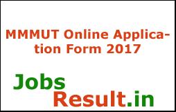 MMMUT Online Application Form 2017