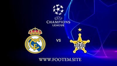 Real Madrid vs FC Sheriff