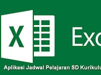 Aplikasi Jadwal Pelajaran SD Kurikulum 2013