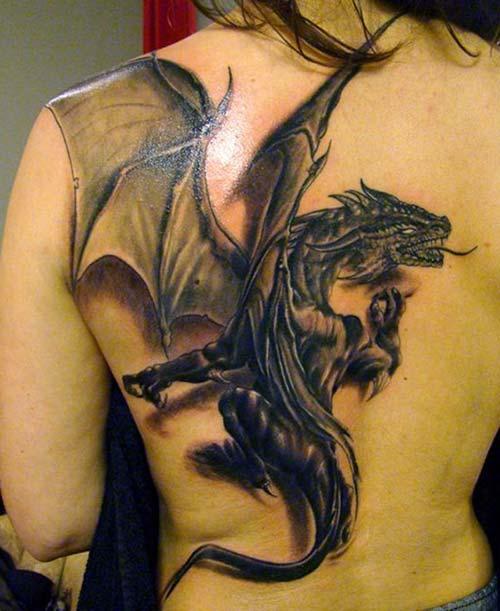 dragon tattoos 3d ejderha dövmeleri