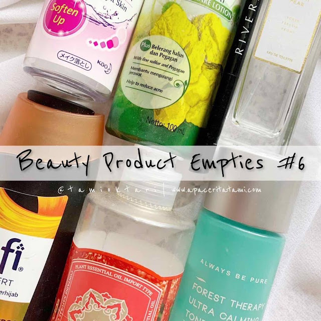 BEAUTY PRODUCT EMPTIES #6 | Edisi Januari 2020