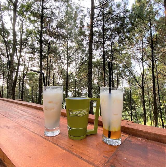 Menu di Alas Pacet Coffee & Nature Mojokerto