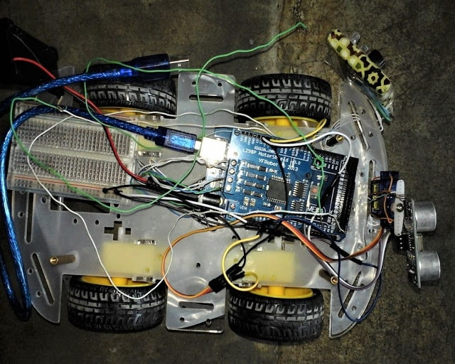 Obstacle Avoiding Robot using Arduino with Code