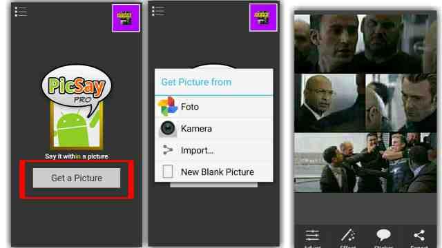 cara membuat meme di picsay pro