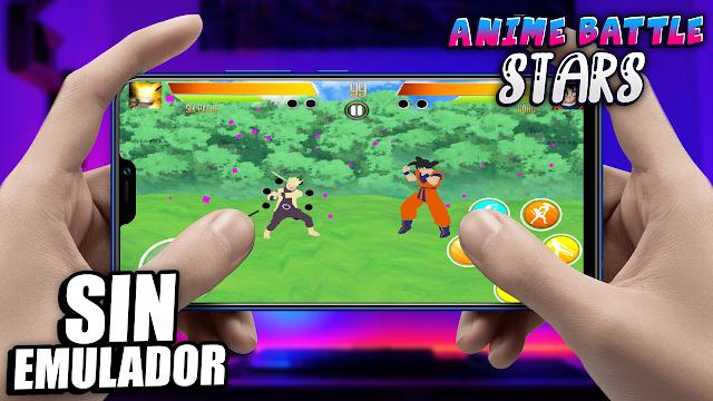 Mugen Anime Battle Stars Sin Emulador Para Teléfonos Android (Apk)
