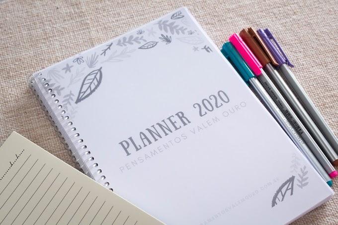 Planner Literário 2020 para imprimir