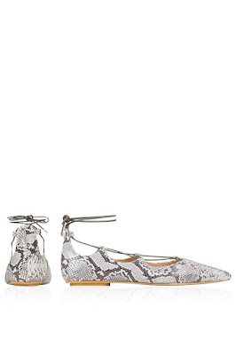 Topshop Kingdom Snake-Effect Ghillie Point