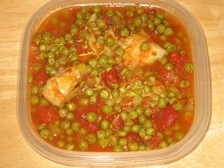 Peas and Artichokes Yachni