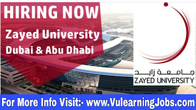 Zayed University Career & Jobs 2019 In Middle East