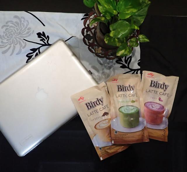 birdy latte cafe, minuman kekinian